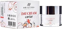 Perfumería y cosmética Crema facial con extracto de caviar y ácido hialurónico - Hristina Cosmetics Orient Caviar Face Day Cream