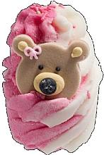 Perfumería y cosmética Bomba de baño con aceites esenciales de mandarina y sándalo, aroma a fresa - Bomb Cosmetics Teddy Bears Picnic Bath Mallow
