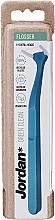 Perfumería y cosmética Hilo dental flosser, azul, 6uds. - Jordan Green Clean Flosser