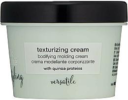 Perfumería y cosmética Crema para cabello modelante corporizante con proteínas de quinoa - Milk Shake Lifestyling Texturizing Cream