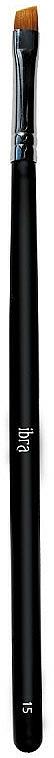 Pincel biselado para cejas, №15 - Ibra — imagen N1