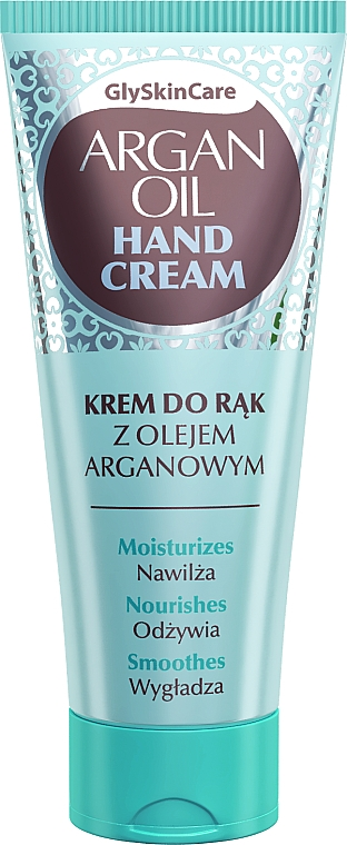 Crema de manos con aceite de argán y glicerina - GlySkinCare Argan Oil Hand Cream