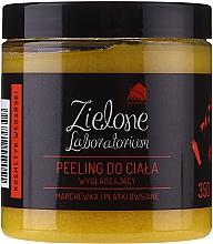 Perfumería y cosmética Peeling corporal suavizante con extracto de zanahoria y avena, vegano - Zielone Laboratorium