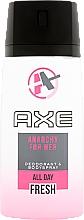 Perfumería y cosmética Desodorante antitranspirante - Axe Anarchy Deo Spray For Her