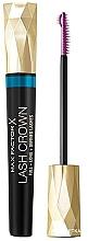 Perfumería y cosmética Máscara de pestañas resistente al agua para volumen y definición - Max Factor Lash Crown Mascara Waterproof