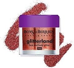 Perfumería y cosmética Purpurina para rostro y cuerpo - Boys'n Berries Glitterland Face and Body Glitter
