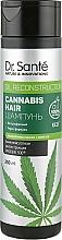 Perfumería y cosmética Champú para cabello con aceite de cáñamo, vegano - Dr. Sante Cannabis Hair Shampoo