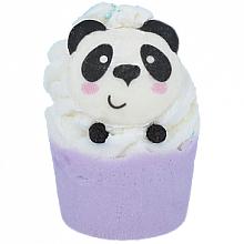 Perfumería y cosmética Bomba de baño con aceite esencial de geranio, aroma floral - Bomb Cosmetics Panda-Monium Bath Bomb