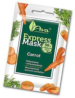 Mascarilla facial natural con extracto de zanahoria - Ava Laboratorium Beauty Express Mask Carrot