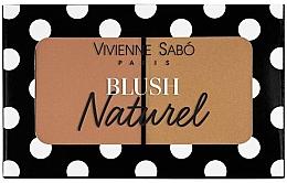 Perfumería y cosmética Colorete facial duo - Vivienne Sabo Naturel Blush Duo