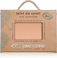 Perfumería y cosmética Polvo facial iluminador bio orgánico con manteca de karité - Couleur Caramel Sun Powder