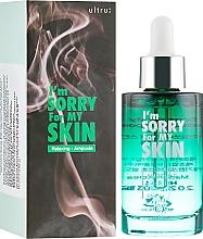 Perfumería y cosmética Sérum facial relajante con ácido hialurónico hidrolizado, extractos de centella asiática y árbol de té - Ultru I'm Sorry For My Skin Relaxing Ampoule