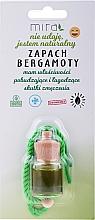 Perfumería y cosmética Ambientador de coche con aroma a bergamota - Mira