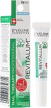 Perfumería y cosmética Sérum para uñas y cutículas de hidratación intensa con jugo de aloe - Eveline Cosmetics Nail Therapy Professional Serum Aloe Conditioner (mini)