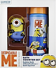 Perfumería y cosmética Set de ducha infantil - Corsair Despicable Me (espuma de baño/250ml + juguete)