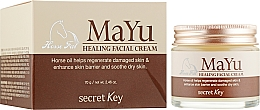 Perfumería y cosmética Crema facial reparadora con manteca de caballo - Secret Key MAYU Healing Facial Cream