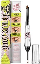 Perfumería y cosmética Delineador de cejas bilateral con cera y polvos resistente al agua - Brow Styler Eyebrow Pencil & Powder Duo
