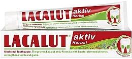 Perfumería y cosmética Pasta dental con 8 hierbas curativas - Lacalut Aktiv Herbal Toothpaste