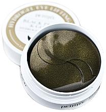 Perfumería y cosmética Parches para ojos de hidrogel con perlas negras y doradas - Petitfee & Koelf Black Pearl&Gold Hydrogel Eye Patch