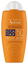Perfumería y cosmética Fluido protector solar - Avene Solaire Fluide Sport SPF 50+