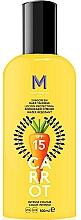 Perfumería y cosmética Loción protectora solar para bronceado intenso - Mediterraneo Sun Carrot Sunscreen Dark Tanning SPF15