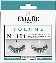 Perfumería y cosmética Pestañas postizas con pegamento incluido - Eylure Volume False Eyelashes No.101