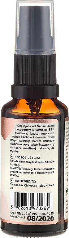 Aceite de jojoba - Nature Queen Jojoba Oil — imagen N2