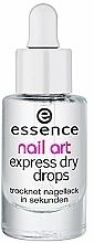 Perfumería y cosmética Gotas de secado rápido para esmalte de uñas - Essence Circus Circus Nail Art Express Dry Drops