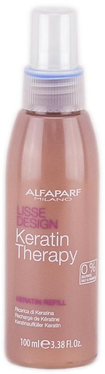 Leche capilar de protección térmica con queratina y colágeno (recarga) - Alfaparf Lisse Design Keratin Therapy Refill Milk