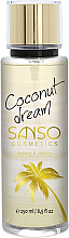 Perfumería y cosmética Spray corporal con aroma a coco - Sanso Cosmetics Coconut Dream Body Spray