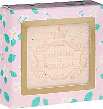 Perfumería y cosmética Jabón exfoliante con extracto de rosa mosqueta, aroma a jazmín - Essencias De Portugal Jasmine With Rosehip Scrub Aromatic Soap