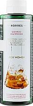 Perfumería y cosmética Champú anticaída con ácido salicílico y pantenol - Korres Pure Greek Olive Shampoo