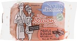 Perfumería y cosmética Jabón con arcilla roja - Secrets De Provence My Soap Bar Wood Of Provence Perfume