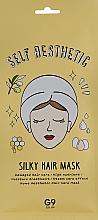 Perfumería y cosmética Gorra mascarilla reparadora de cabello quebradizo con extracto de clara de huevo, aceite de oliva y miel - G9Skin Self Aesthetic Silky Hair Mask