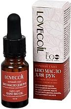 Perfumería y cosmética Bio aceite para manos con jojoba y ácido hialurónico - ECO Laboratorie Lovecoil Night Care Hand Bio-Oil