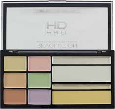 Perfumería y cosmética Paleta correctores faciales - Makeup Revolution HD Correct and Perfect Palette