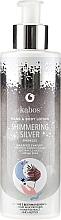 Perfumería y cosmética Loción para manos y cuerpo con karité y extracto de miel - Kabos Shimmering Silver Hand & Body Lotion