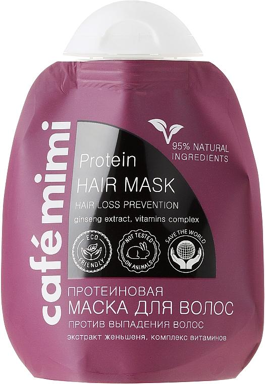 Mascarilla capilar natural con extracto de ginseng y vitaminas - Le Cafe de Beaute Cafe Mimi Protein Hair Mask