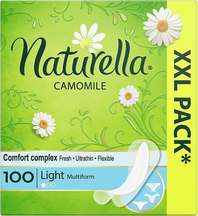 Salvaslips con camomila, 100 uds. - Naturella Camomile Light