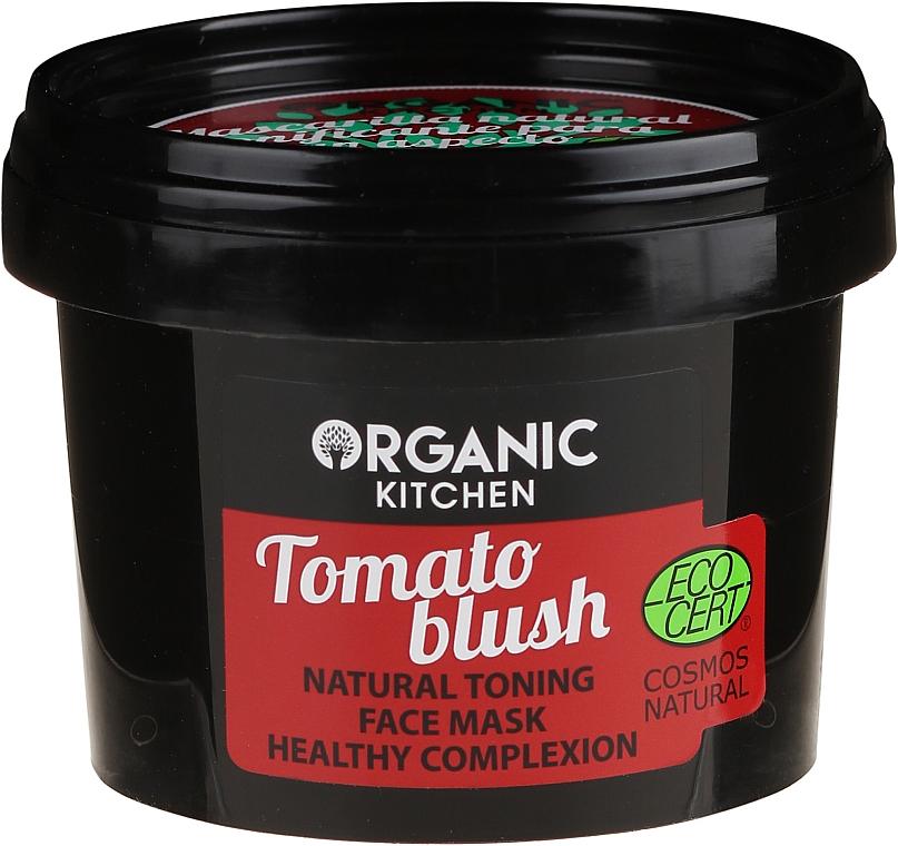 Mascarilla facial tonificante con extractos de lima y hoja de tomate - Organic Shop Organic Kitchen Face Mask