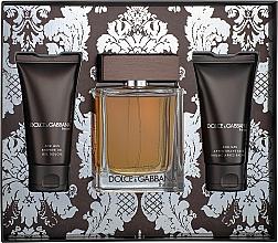 Perfumería y cosmética Dolce&Gabbana The One For Men - Set (eau de toilette/100ml + bálsamo aftershave/50ml + gel de ducha/50ml)