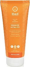 Perfumería y cosmética Champú con aceite de naranja - Khadi Shampoo Orange Vitality