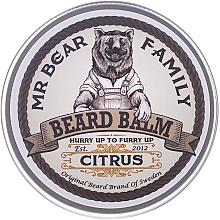 Perfumería y cosmética Bálsamo para barba con aceite de limón - Mr. Bear Family Beard Balm Citrus