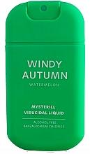 Perfumería y cosmética Spray de manos antibacteriano, aroma a sandía - HiSkin Antibac Hand Spray Windy Autumn