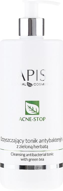 Tónico limpiador antibacteriano con té verde - APIS Professional Cleansing Antibacterial Tonic
