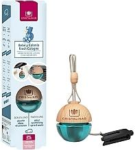 Perfumería y cosmética Ambientador de coche con aroma a colonia fresca sin alcohol - Cristalinas Baby Fresh Cologne
