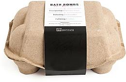 Perfumería y cosmética Set bombas de baño - IDC Institute Pure Energy Bath Bombs Lavender & Passion Fruit & Lotus (6x70g)