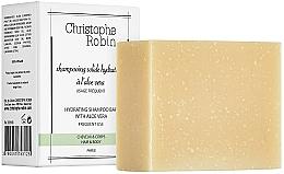 Perfumería y cosmética Champú hidratante sólido con aloe vera, uso diario - Christophe Robin Hydrating Shampoo Bar with Aloe Vera