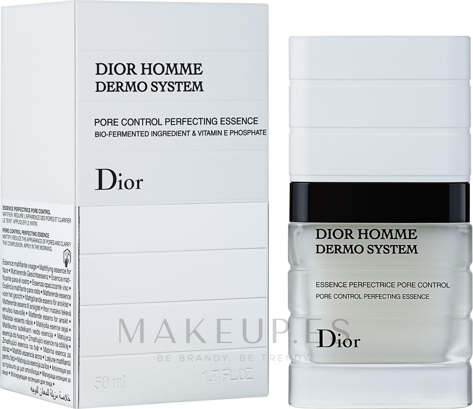 Emulsión facial vigorizante con ingredientes biofermentados y fosfato de vitamina E - Dior Homme Dermo System Emulsion  — imagen 50 ml