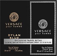 Perfumería y cosmética Versace Dylan Blue Pour Homme - Set (eau de toilette/2uds./30ml)